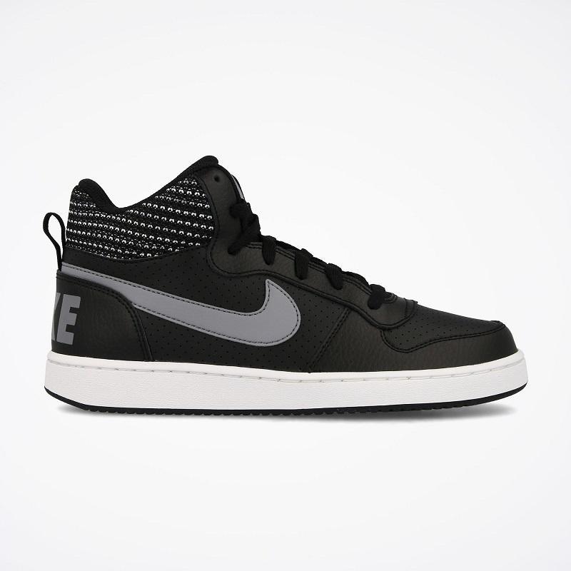 Nike NIKE COURT BOROUGH MID SE DONNA RAGAZZI NERO 918340-006 MAGSPO...