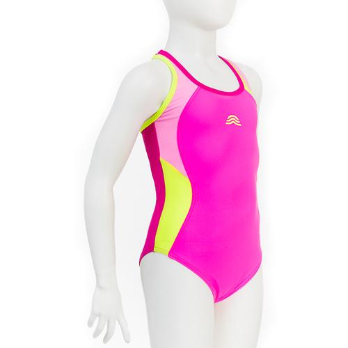 AQUARAPID COSTUME INTERO PISCINA BAMBINA LIRI FUXIA
