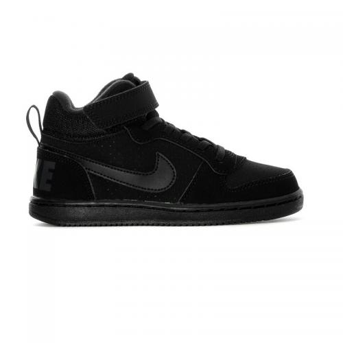 NIKE COURT BOROUGH MID PSV BAMBINI NERO