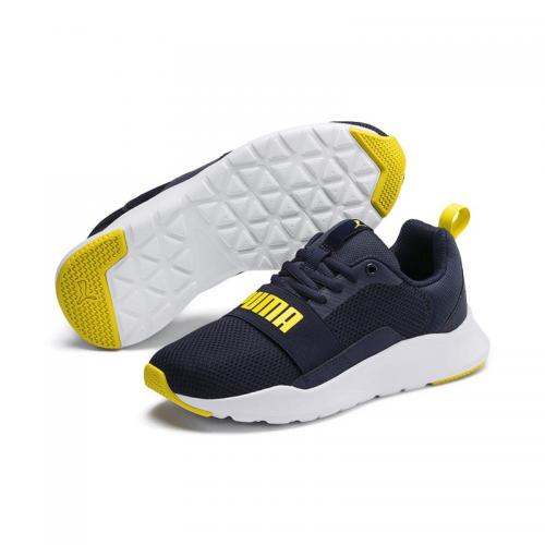 PUMA WIRED MESH BLU GIALLO