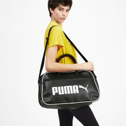 PUMA BORSA GRIP BAG RETRO NERO BIANCO