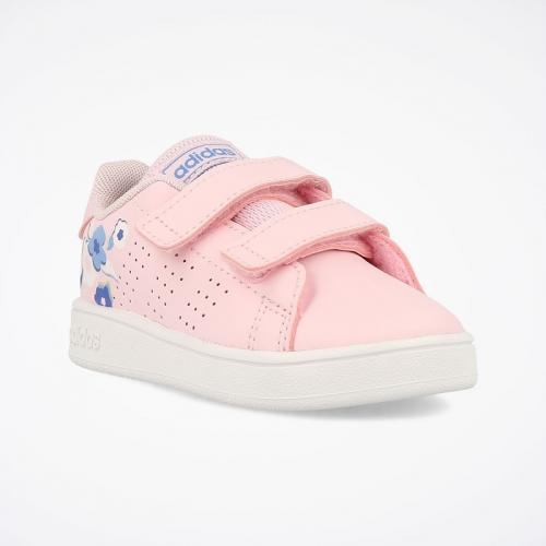 ADIDAS ADVANTAGE STRAPPO ROSA FIORI INFANT
