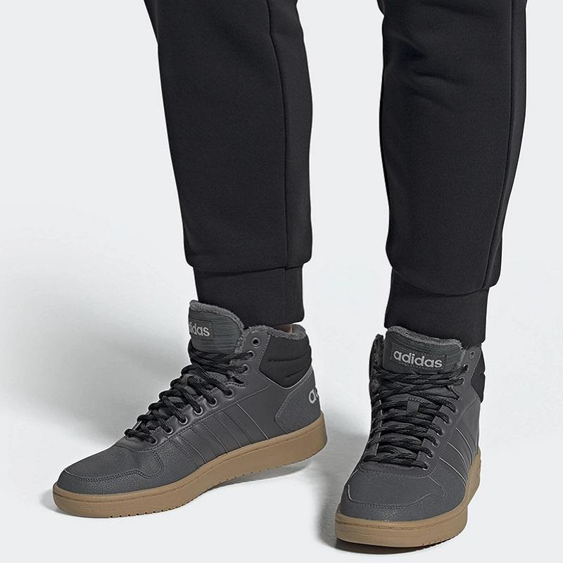 ADIDAS NEO CLOUDFOAM SUPER HOOPS 2.0 MID ANTRACITE